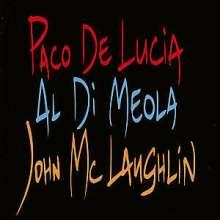 Paco de Lucia, Al Di Meola & John McLaughlin: The Guitar Trio, CD