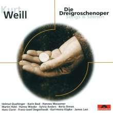 Kurt Weill (1900-1950): Die Dreigroschenoper (Songs & Szenen), CD