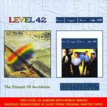 Level 42: The Pursuit Of Accidents / Standing In The Light, 2 CDs