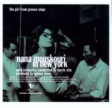 Nana Mouskouri: Nana Mouskouri In New York, LP