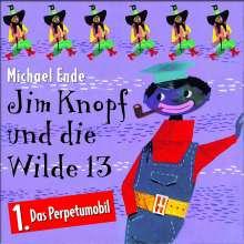 Jim Knopf und die Wilde 13 - Folge 1 - Das Perpetumobil, CD