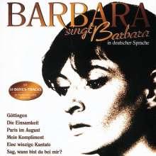 Barbara: Barbara singt Barbara in deutscher Sprache, CD