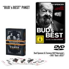 Bud's Best - Die Welt von Bud Spencer (inkl. Pokerspiel), 1 DVD und 1 Merchandise