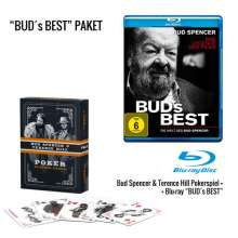 Bud's Best - Die Welt von Bud Spencer (inkl. Pokerspiel) (Blu-ray), Blu-ray Disc