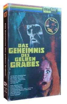 Das Geheimnis des gelben Grabes (Limited Collector's Edition im VHS-Design) (Blu-ray), 1 Blu-ray Disc und 1 DVD