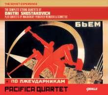 Dmitri Schostakowitsch (1906-1975): Streichquartette Nr.1-15, 8 CDs