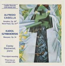 Alfredo Casella (1883-1947): 9 Pezzi op.24, CD