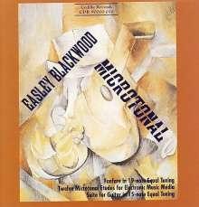 Easley Blackwood (geb. 1932): 12 Mictrotonale Etüden für elektronische Musik-Medien, CD