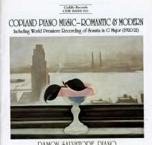 Aaron Copland (1900-1990): Klaviersonate G-Dur, CD
