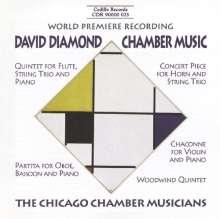 David Diamond (1915-2005): Bläserquintett, CD