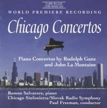 Rudolf Ganz (1877-1972): Klavierkonzert op.32, CD