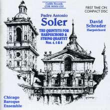 Antonio Soler (1729-1783): Quintette für Cembalo & Streicher Nr.4-6, CD