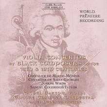 Rachel Barton - Violin Concertos by Black Composers, CD