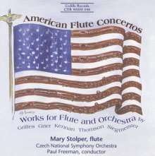 Mary Stolper - American Works for Flute & Orchestra, CD