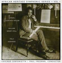 African Heritage Symphonic Series Vol.1, CD