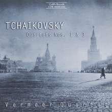 Peter Iljitsch Tschaikowsky (1840-1893): Streichquartette Nr.1 & 3, CD
