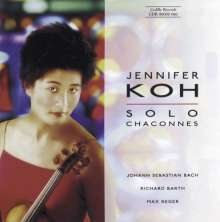Jennifer Koh - Solo Chaconnes, CD