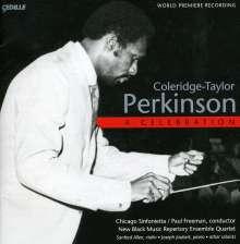 Coleridge-Taylor Perkinson (1932-2004): Sinfonietta für Streicher Nr.1, CD