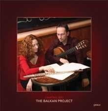 Musik für Flöte & Gitarre - The Balkan Project, CD