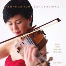 Jennifer Koh - Bach & Beyond Part 1, CD
