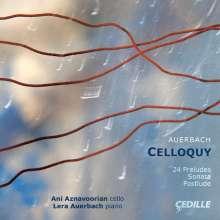 Lera Auerbach (geb. 1973): Sonate für Cello & Klavier, CD