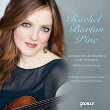 Rachel Barton Pine - Mendelssohn & Schumann Violin Concertos, CD