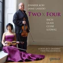 Jennifer Koh & Jaime Laredo - Tow X Four, CD