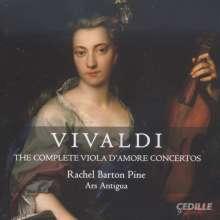 Antonio Vivaldi (1678-1741): Konzerte für Viola d'amore RV 97,392-397,540, CD