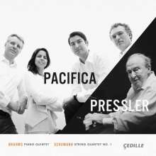 Menahem Pressler & Pacifica Quartet, CD
