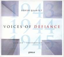 Dover Quartet - Voices of Defiance, CD