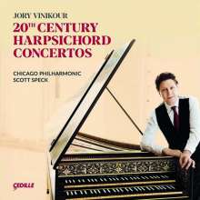 20th Century Harpsichord Concertos, CD