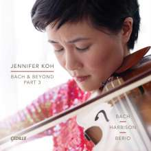 Jennifer Koh - Bach & Beyond Part 3, 2 CDs