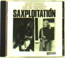Kathy Stobart & Joe Temperley: Saxploitation, CD
