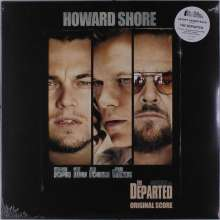 Howard Shore (geb. 1946): Filmmusik: The Departed (O.S.T.) (180g) (Limited-Numbered-Edition) (Clear Blue/Black/White Vinyl), LP
