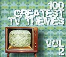 Filmmusik: 100 Greatest TV Themes Vol. 2, 4 CDs