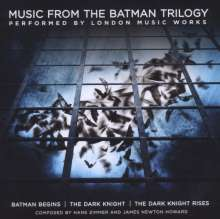 The City Of Prague Philharmonic Orchestra: Filmmusik: Music From The Batman Trilogy: Batman Begins / The Dark Knight / The Dark Knight Rises, CD