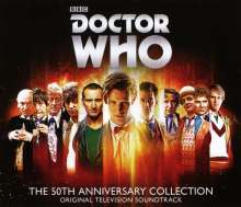 Filmmusik: Doctor Who: The 50th Anniversary Collection, 4 CDs