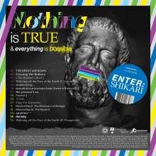 Enter Shikari: Nothing Is True & Everything Is Possible / Moratorium (Limited Edition) (White/Grey Heavy Splatter Vinyl), 2 LPs