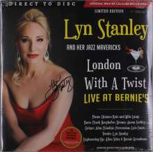 Lyn Stanley: London With A Twist (180g) (Limited Numbered Edition) (Ferrari Red Vinyl) (45 RPM) (signiert), 2 LPs