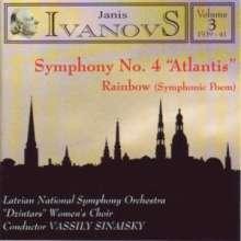 Janis Ivanovs (1906-1983): Symphonie Nr.4, CD