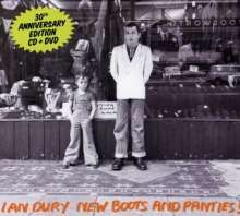 Ian Dury: New Boots & Panties + D, CD
