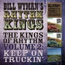 Bill Wyman: The Kings Of Rhythm Vol.2: Keep On Truckin, 4 CDs