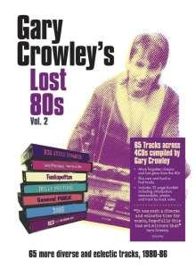 Gary Crowley's Lost 80's Vol.2 (Mediabook), 4 CDs
