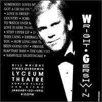 Billy Wright: Gershwin Live, CD