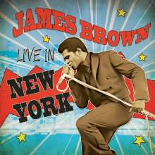 James Brown: Live In New York (Limited-Edition) (Red Vinyl), LP