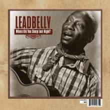 Leadbelly (Huddy Ledbetter): Where Did You Sleep Last Night?, LP