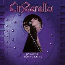 Cinderella: Live At The Key Club (Limited-Numbered-Edition) (Purple Marbled Vinyl), LP