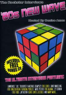 80s New Wave Rockstar I: 80s New Wave Rockstar Intervie, 2 DVDs