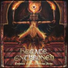 Hecate Enthroned: Embrace Of The Godless Aeon (Limited-Edition) (Red Splatter Vinyl), LP