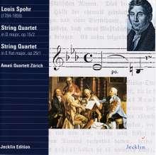 Louis Spohr (1784-1859): Streichquartette op.15,2 & op 29,1, CD